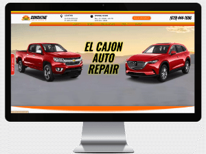 sacramento web design agency best auto repair websites