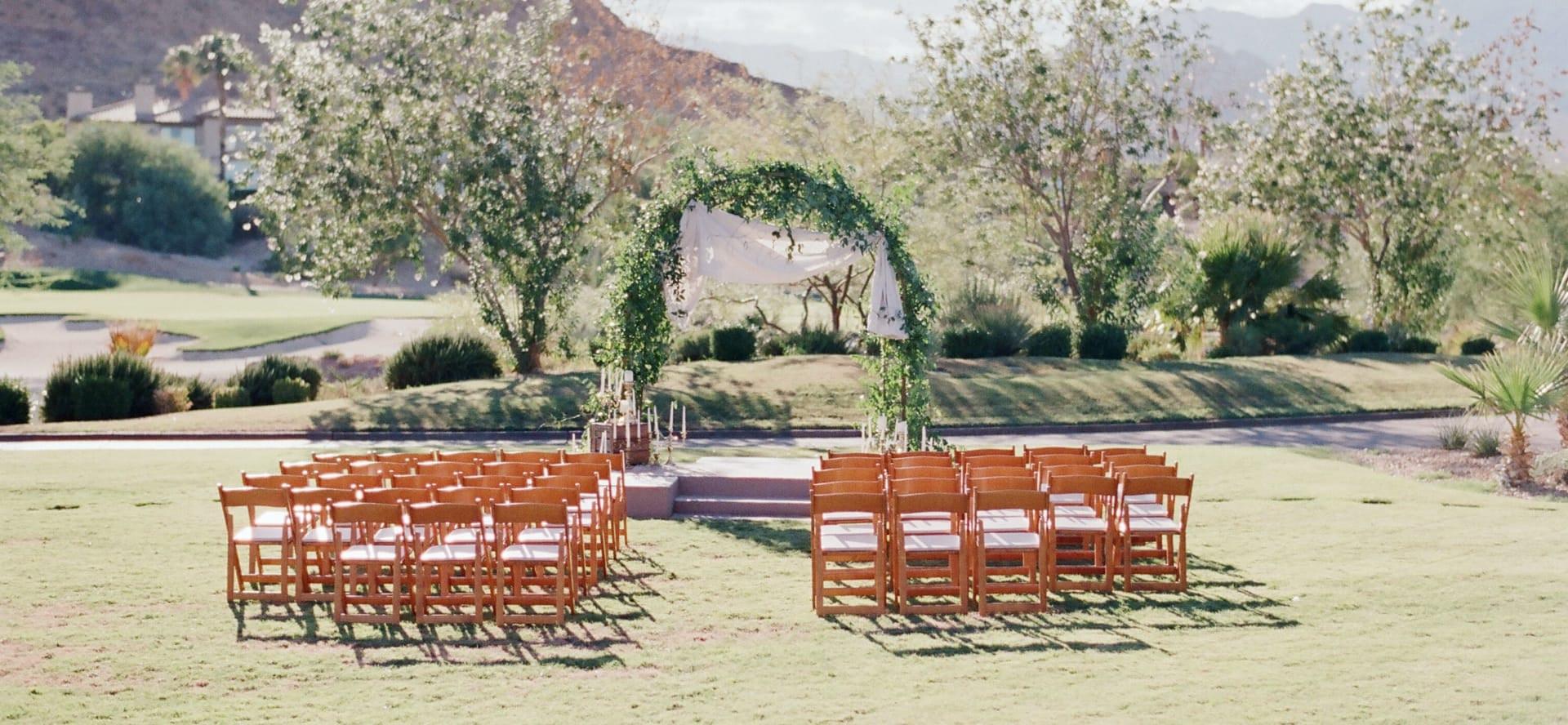 before wedding outside